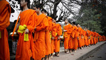 alms offering, cooking class, city tour and night market (Full day), Luang Prabang, Cooking Classes