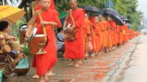 Full Day Alms offering and Pak Ou Caves (lunch included), Luang Prabang, Cultural Tours