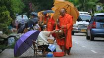 Full Day Alms offering, City Tour and Pak Ou Caves (lunch and dinner included), Luang Prabang, ...