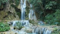 Pak Ou Caves, Xang Kong and Xang Hai village, Kuang Si Falls - Mon tribe village, Luang Prabang,...