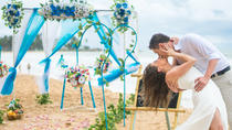 Western Style Beach Wedding Ceremony at Bentota Beach, Bentota
