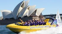 30-Minute Sydney Harbour Jet Boat Ride: Thunder Twist, Sydney, Helicopter Tours