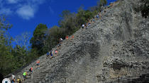 Coba Archaeological Site Snorkel underground river and gourmet beach side lunch, Playa del Carmen,...