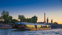 Bateaux-Mouches 3-Hour Seine River Cruise Including Dinner and Live Music, Paris, Night Cruises