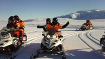 Golden Circle Super Jeep adventure with snowmobiling, Reykjavik, Ski & Snow