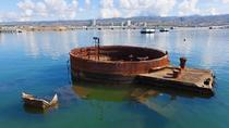 Pacific Aviation Museum, USS Arizona, Punchbowl en Honolulu City Tour, Oahu, Bus & Minivan Tours