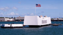 Sightseeingtour naar het Arizona Memorial, Pearl Harbor en de Punchbowl, Oahu, Tours met bus en ...