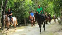Horseback Riding Tour in the Tropical Jungle from Cancun and Riviera Maya, Cancun, Horseback Riding