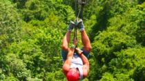 Zipline and ATV Combo Tour, Cancun, Ziplines