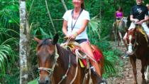 Ziplining and Horseback Riding Experience from Cancun, Cancun, Horseback Riding