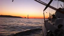 Lisbon Sunset Sensations Private Sailing Tour with a Bottle of Sparkling Wine, Lisbon, Sunset ...