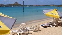 St Lucia Shore Excursion: Reduit Beach Shuttle Service, St Lucia, Southern Caribbean Shore ...