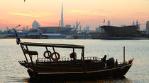 Sun Set Abra (wooden boat) Ride with Emirati High Tea, Dubai, Day Cruises