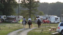 Couples Escape On Horseback, Ontario, Horseback Riding