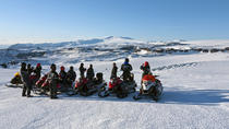 Snowmobiling on Mýrdalsjökull Glacier from Reykjavik, Reykjavik, Day Trips