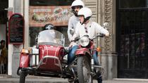 Visite privée en side-car de la seconde guerre mondiale avec un guide local à Barcelone, ...