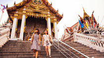 Visite privée : visite du marché nocturne et d'un temple avec un guide local, Bangkok, Private Sightseeing Tours