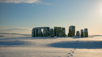 Tur 1. juledag: Windsor, Stonehenge, Bath og Lacock, London, Jul
