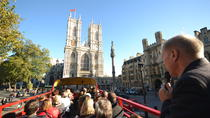 Vintage Bus Tour of London Including Westminster Abbey and Thames River Cruise, London, City Tours