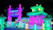 Private Harbin Ice Lantern Show at Zhaolin Park Night Tour with Zhongyang Pedestrian Street, ...