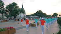 Private Harbin Local Experience Evening Tour:Square Dance and Night Food Market, Harbin, Market...