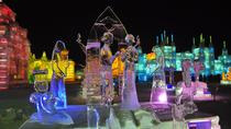 Shared Transfer Service to Ice and Snow World, Sun Island Snow Festival, Tiger Park, Harbin, Bus...