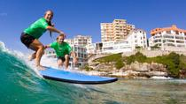 Surfing Lessons on Sydney's Bondi Beach, Sydney, Helicopter Tours