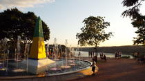 Sunset at the Landmark of the Three Frontiers Mounument, Foz do Iguacu, Day Trips