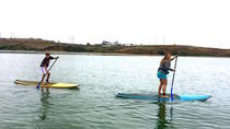 Stand-Up Paddleboard Adventure Lesson in Carlsbad, San Diego, Stand Up Paddleboarding
