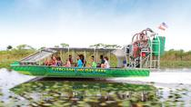 Everglades Airboat Tour and Alligator Show, Miami