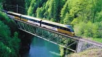 Day Trip to Gruyères including Golden Panoramic Express Train, Geneva, Bus & Minivan Tours