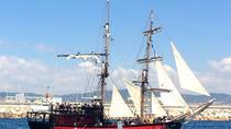 Barcelona Litoral Pirate Boat Trip, Barcelona, Day Cruises