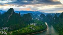 Hiking along Li river and trail in the mountains, Guilin, Hiking & Camping