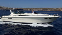 Private Motor Yacht Cruise with Drinks, Santorini, Private Sightseeing Tours