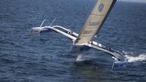 Trimaran Sailing in Caldera, Santorini, Sailing Trips
