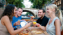 Amsterdam Canals Pizza Cruise Including Drinks, Amsterdam, Dinner Cruises