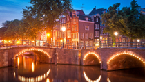 Crociera sui canali di Amsterdam con cocktail, Amsterdam, Night Cruises