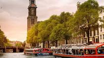 Amsterdam Canal Cruise by Semi-Open Boat, Amsterdam, Dinner Cruises