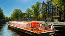 Amsterdam Canal Cruise from Anne Frank House Stop Plus Pancake and Drink, Amsterdam, Night Cruises