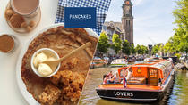 Amsterdam Canal Cruise from Anne Frank House Stop Plus Pancake and Drink, Amsterdam, Private ...