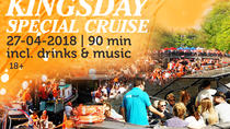 Amsterdam: KINgsday Special Cruise, Amsterdam, Food Tours