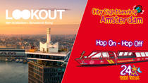Amsterdam Super Saver: A'DAM Lookout & City Sightseeing Hop-On Hop-Off Boat, Amsterdam, Hop-on...