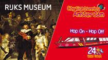 Amsterdam Super Saver: Rijksmuseum & City Sightseeing Hop-On Hop-Off Boat, Amsterdam, Hop-on...