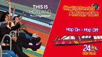Amsterdam Super Saver: THIS IS HOLLAND & City Sightseeing Hop-On Hop-Off Boat, Amsterdam, Hop-on...
