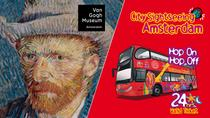 Amsterdam Super Saver: Van Gogh Museum & City Sightseeing Hop-On Hop-Off Bus, Amsterdam, Hop-on ...