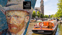 Amsterdam Super Saver: Van Gogh Museum Entrance Ticket and 1-Hour Canal Cruise, Amsterdam, Private...