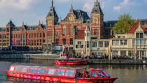 City Sightseeing Amsterdam 24-Hr Hop-On Hop-Off Boat & XtraCold Icebar Fast-Track Ticket,...