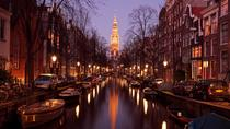 Guided Amsterdam Evening Canal Cruise Including Wine and Cheese, Amsterdam, Day Trips