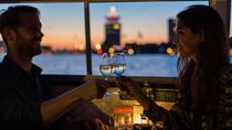 Guided Amsterdam Evening Canal Cruise Including Wine and Cheese, Amsterdam, Night Cruises