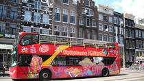 Hop-on-Hop-off-Trolley-Tour durch Amsterdam mit optionaler Kanalfahrt, Amsterdam
